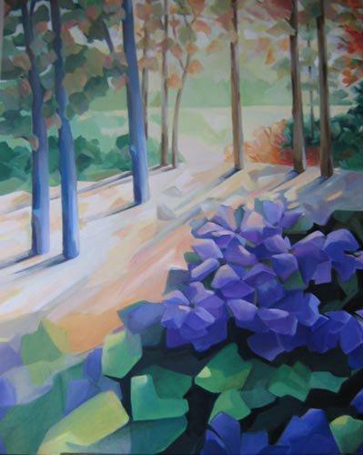 Ballade - Claire Lewis - huile sur toile